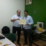 Certificado Treinamento de manutenção e operação
